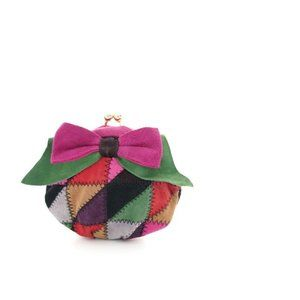 New Genuine suede leather Women's small Purse